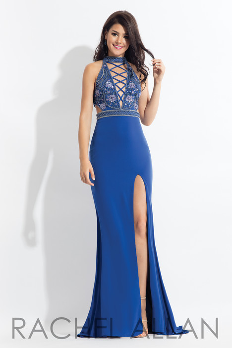 6052 (Blue) Prom                                             dress by Rachel Allan