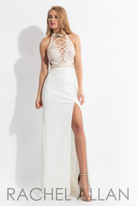 6052 (White) gown from the 2018 Rachel Allan collection, as seen on dressfinder.ca