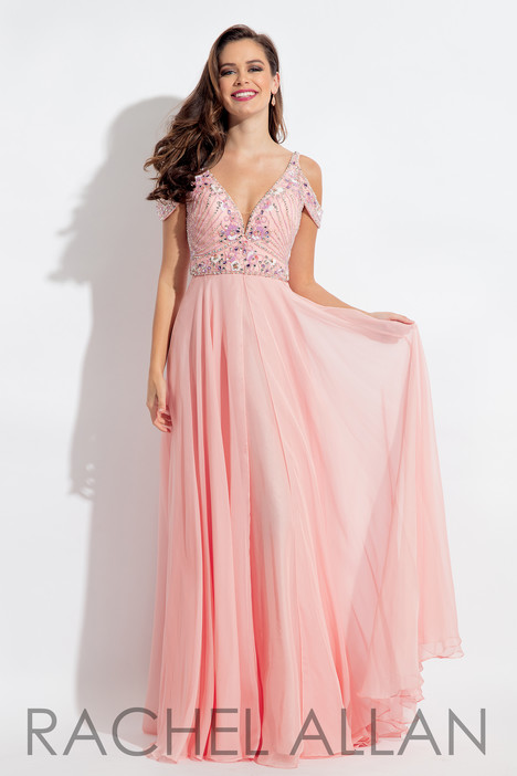 6054 (Blush) gown from the 2018 Rachel Allan collection, as seen on dressfinder.ca
