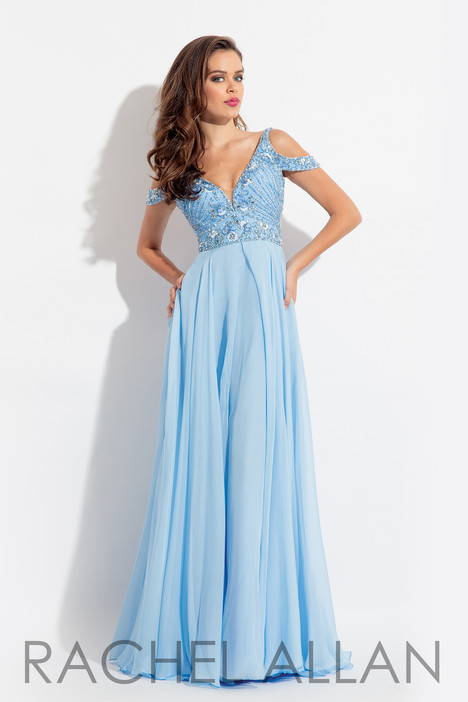 6054 (Sky Blue) gown from the 2018 Rachel Allan collection, as seen on dressfinder.ca