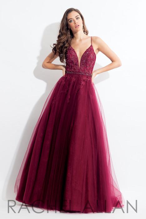 6057 (Aubergine) Prom dress by Rachel Allan