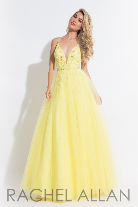 6057 (Yellow) Prom dress by Rachel Allan