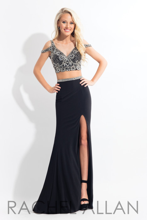 6058 (Black) gown from the 2018 Rachel Allan collection, as seen on dressfinder.ca