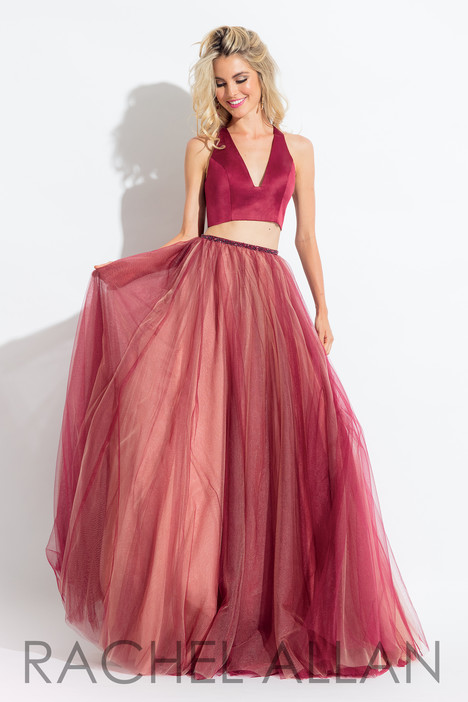 6065 (Red) gown from the 2018 Rachel Allan collection, as seen on dressfinder.ca