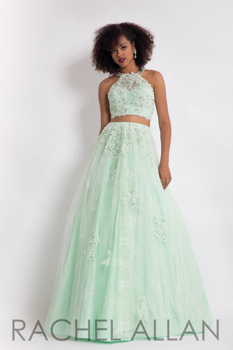 6069 (Green) gown from the 2018 Rachel Allan collection, as seen on dressfinder.ca