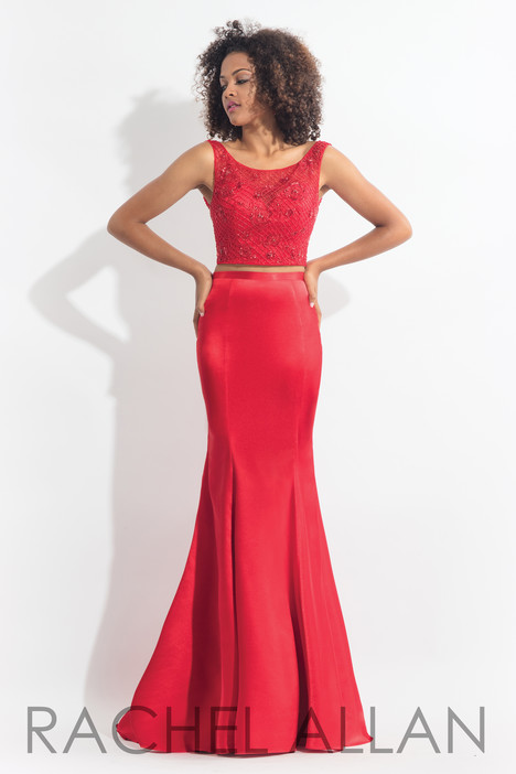 6070 (Red) gown from the 2018 Rachel Allan collection, as seen on dressfinder.ca
