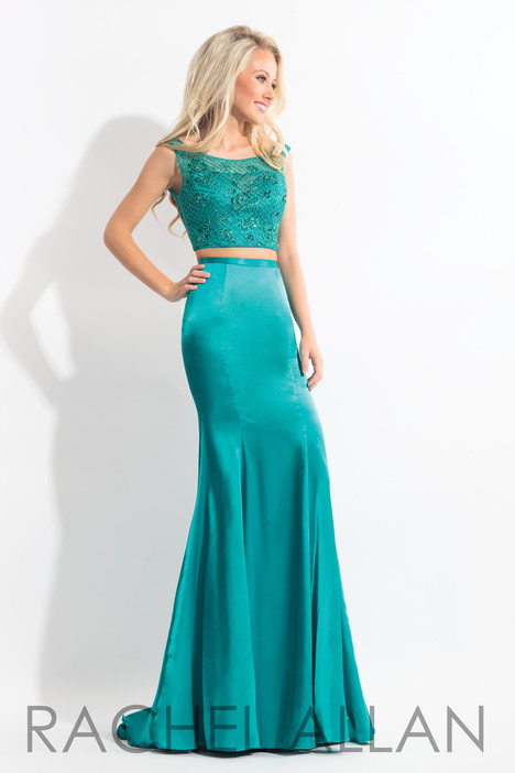 6070 (Teal) gown from the 2018 Rachel Allan collection, as seen on dressfinder.ca