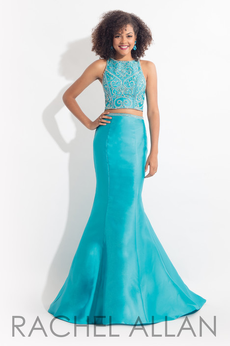 6079 (Turquoise) gown from the 2018 Rachel Allan collection, as seen on dressfinder.ca