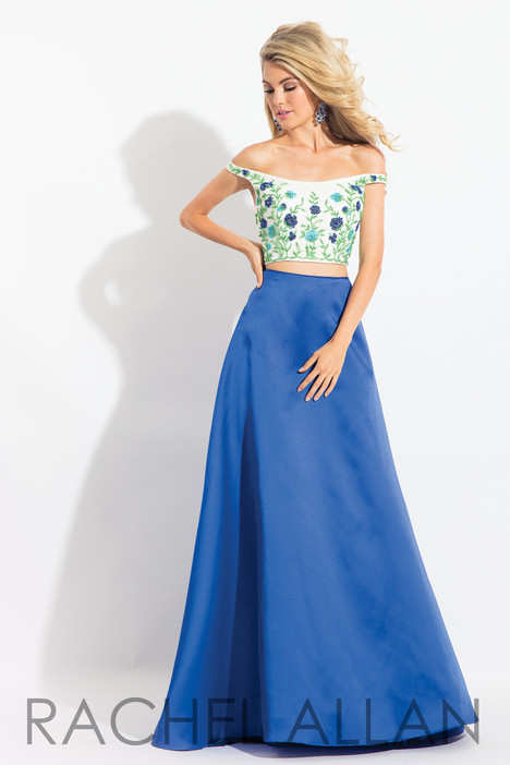 6081 (Blue) Prom dress by Rachel Allan