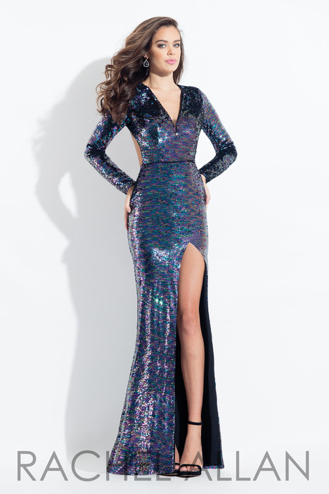 6082 (Navy) gown from the 2018 Rachel Allan collection, as seen on dressfinder.ca