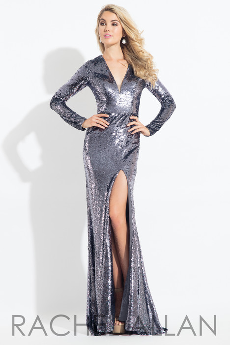 6082 (Silver) gown from the 2018 Rachel Allan collection, as seen on dressfinder.ca