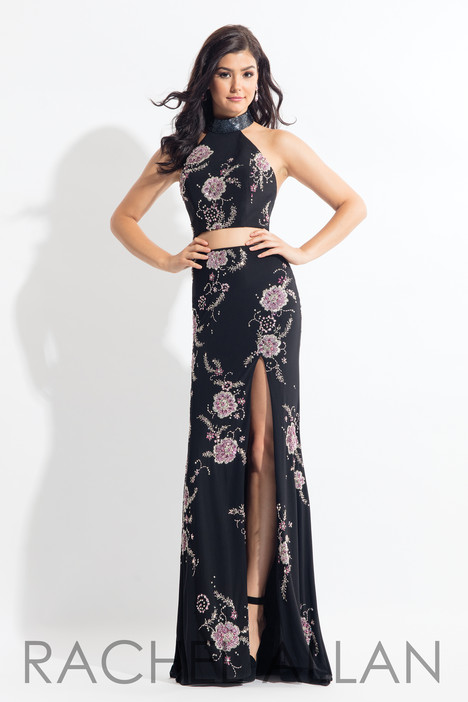 6086 (Black) gown from the 2018 Rachel Allan collection, as seen on dressfinder.ca