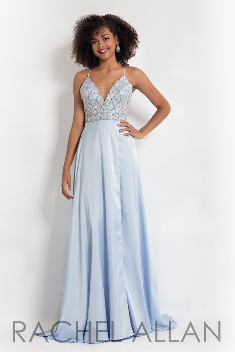 6088 (Sky Blue) gown from the 2018 Rachel Allan collection, as seen on dressfinder.ca