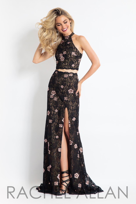 6091 (Black) gown from the 2018 Rachel Allan collection, as seen on dressfinder.ca