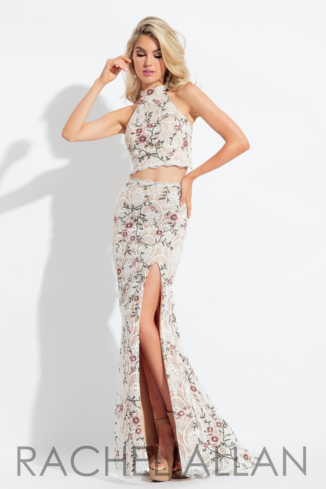 6091 (White) gown from the 2018 Rachel Allan collection, as seen on dressfinder.ca