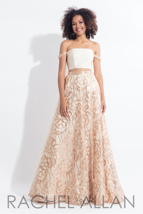 6093 (Champagne) gown from the 2018 Rachel Allan collection, as seen on dressfinder.ca