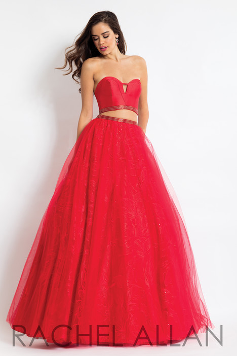 6096 (Red) gown from the 2018 Rachel Allan collection, as seen on dressfinder.ca