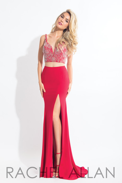 6100 (Red) gown from the 2018 Rachel Allan collection, as seen on dressfinder.ca