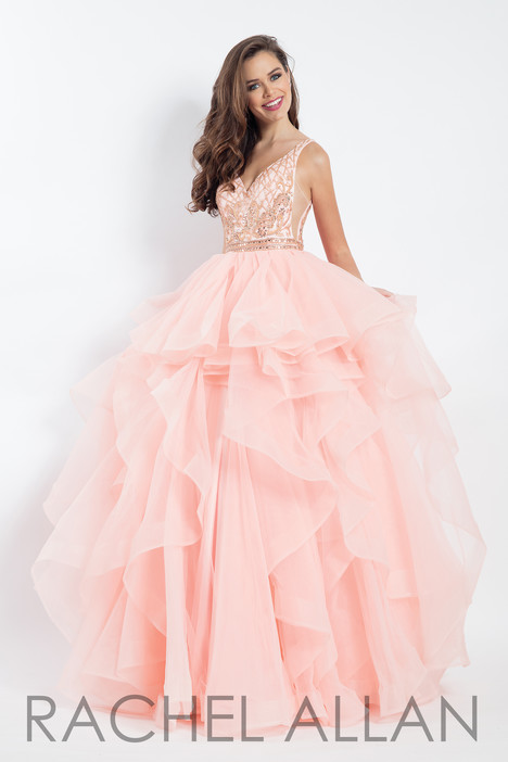 6101 (Blush) Prom dress by Rachel Allan