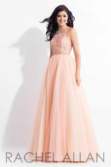 6103 (Blush) gown from the 2018 Rachel Allan collection, as seen on dressfinder.ca