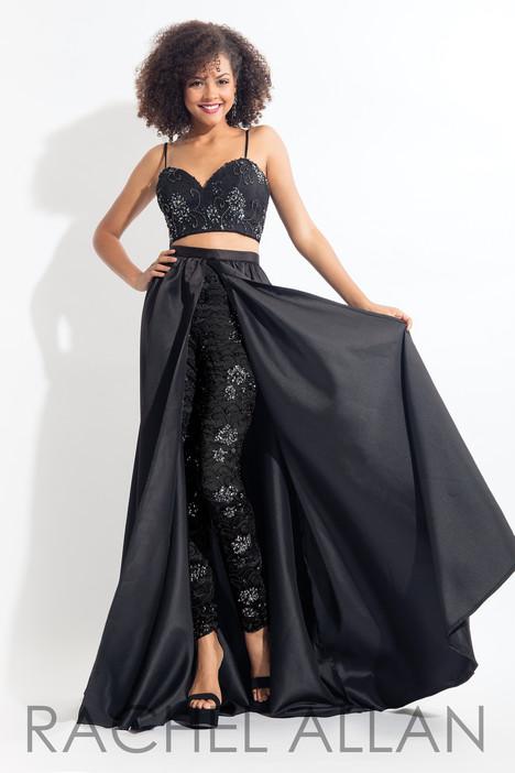 6104 (Black) Prom                                             dress by Rachel Allan