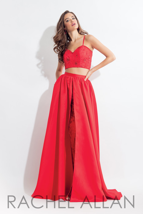 6104 (Red) gown from the 2018 Rachel Allan collection, as seen on dressfinder.ca
