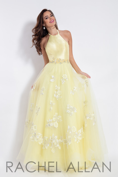 6110 (Yellow) Prom dress by Rachel Allan