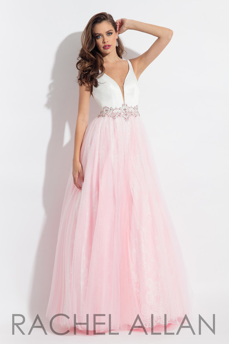 6114 (Pink) gown from the 2018 Rachel Allan collection, as seen on dressfinder.ca