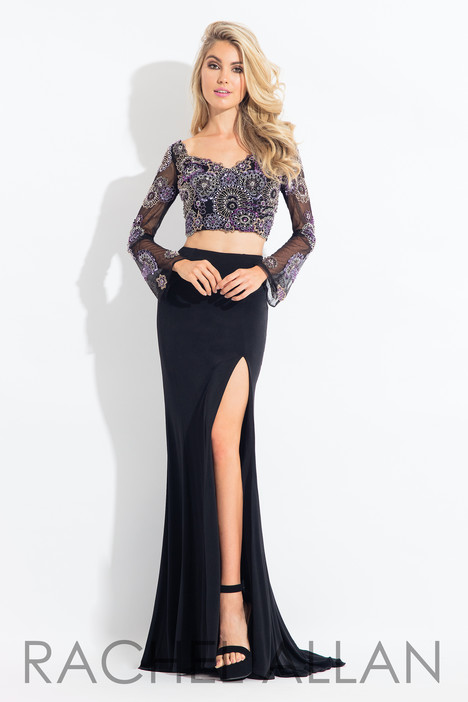 6116 (Black) gown from the 2018 Rachel Allan collection, as seen on dressfinder.ca