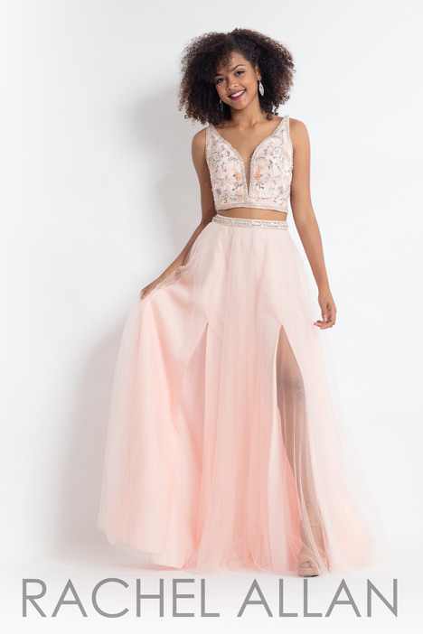 6118 (Blush) gown from the 2018 Rachel Allan collection, as seen on dressfinder.ca