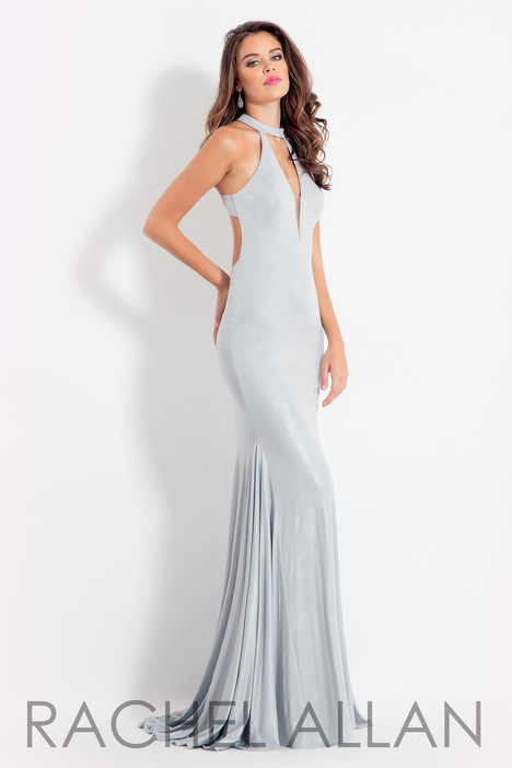 6121 (Silver) gown from the 2018 Rachel Allan collection, as seen on dressfinder.ca