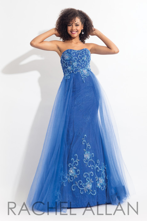 6125 (Blue) gown from the 2018 Rachel Allan collection, as seen on dressfinder.ca