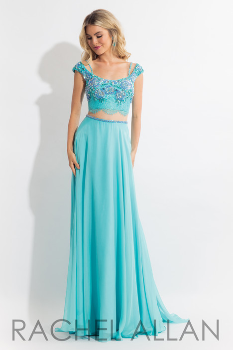 6130 (Teal) gown from the 2018 Rachel Allan collection, as seen on dressfinder.ca