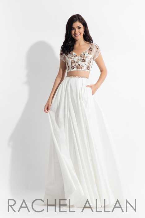 6131 (White) gown from the 2018 Rachel Allan collection, as seen on dressfinder.ca