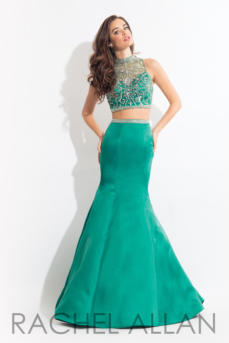6133 (Emerald) gown from the 2018 Rachel Allan collection, as seen on dressfinder.ca