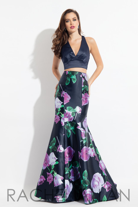 6134 (Black) gown from the 2018 Rachel Allan collection, as seen on dressfinder.ca