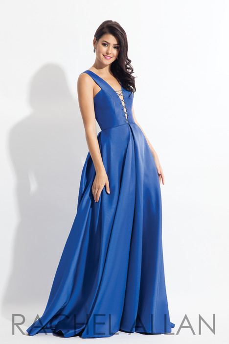 6139 (Blue) gown from the 2018 Rachel Allan collection, as seen on dressfinder.ca