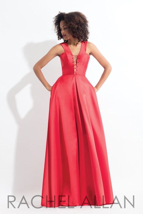 6139 (Red) gown from the 2018 Rachel Allan collection, as seen on dressfinder.ca