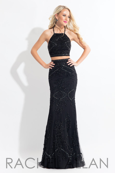 6143 (Black) gown from the 2018 Rachel Allan collection, as seen on dressfinder.ca