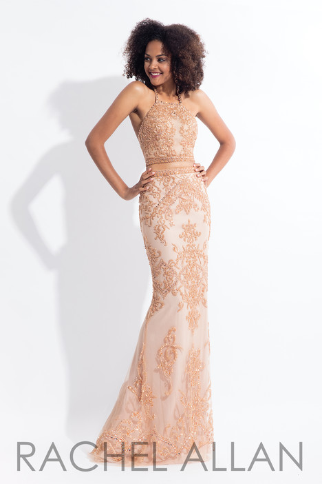 6143 (Rose Gold) gown from the 2018 Rachel Allan collection, as seen on dressfinder.ca