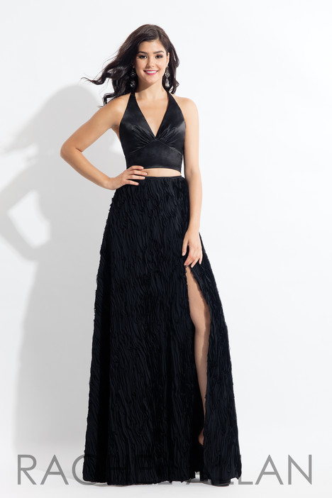 6145 (Black) gown from the 2018 Rachel Allan collection, as seen on dressfinder.ca