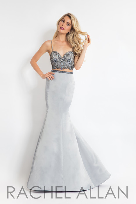 6147 (Grey) gown from the 2018 Rachel Allan collection, as seen on dressfinder.ca