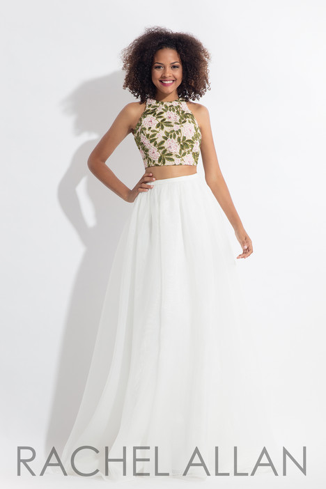 6151 (White) gown from the 2018 Rachel Allan collection, as seen on dressfinder.ca