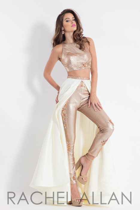6154 (Champagne) gown from the 2018 Rachel Allan collection, as seen on dressfinder.ca