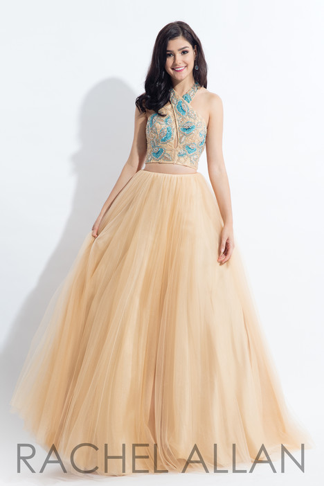 6155 (Champagne) gown from the 2018 Rachel Allan collection, as seen on dressfinder.ca