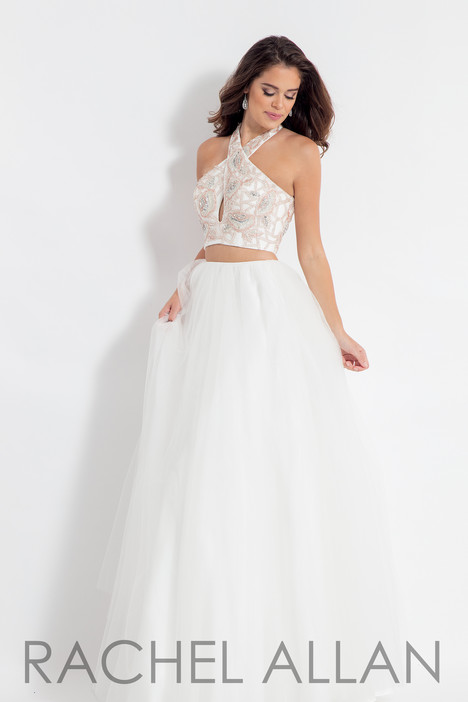 6155 (White) gown from the 2018 Rachel Allan collection, as seen on dressfinder.ca