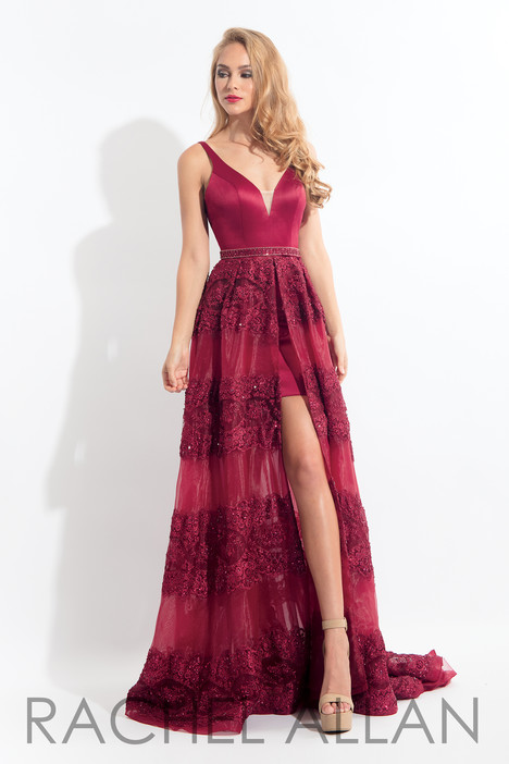 6159 (Aubergine) gown from the 2018 Rachel Allan collection, as seen on dressfinder.ca