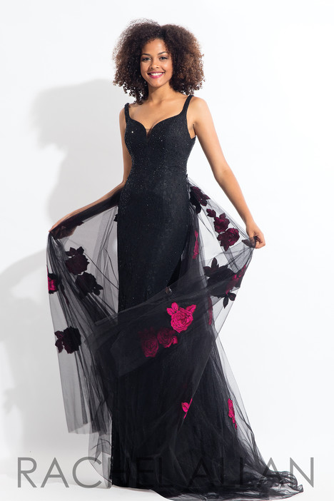 6168 (Black) (2) gown from the 2018 Rachel Allan collection, as seen on dressfinder.ca
