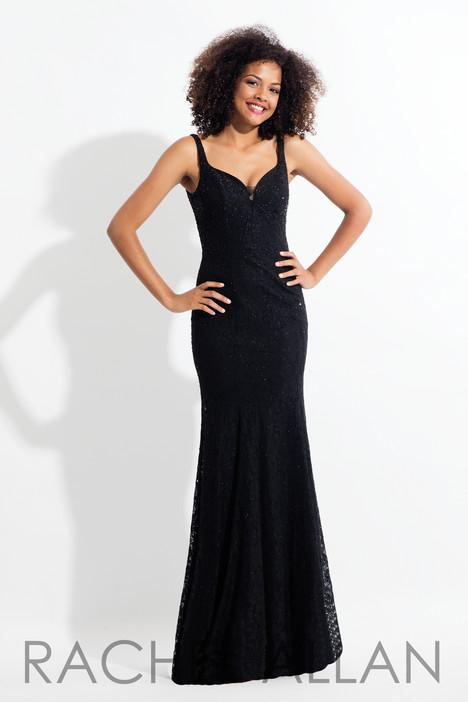 6168 (Black) Prom                                             dress by Rachel Allan