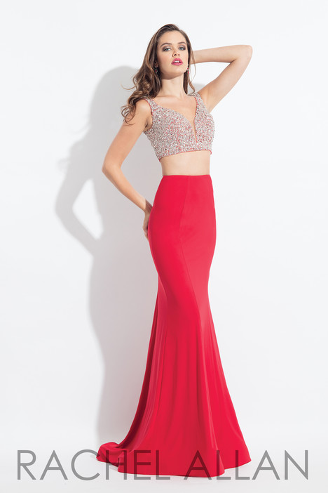 6171 (Red) gown from the 2018 Rachel Allan collection, as seen on dressfinder.ca